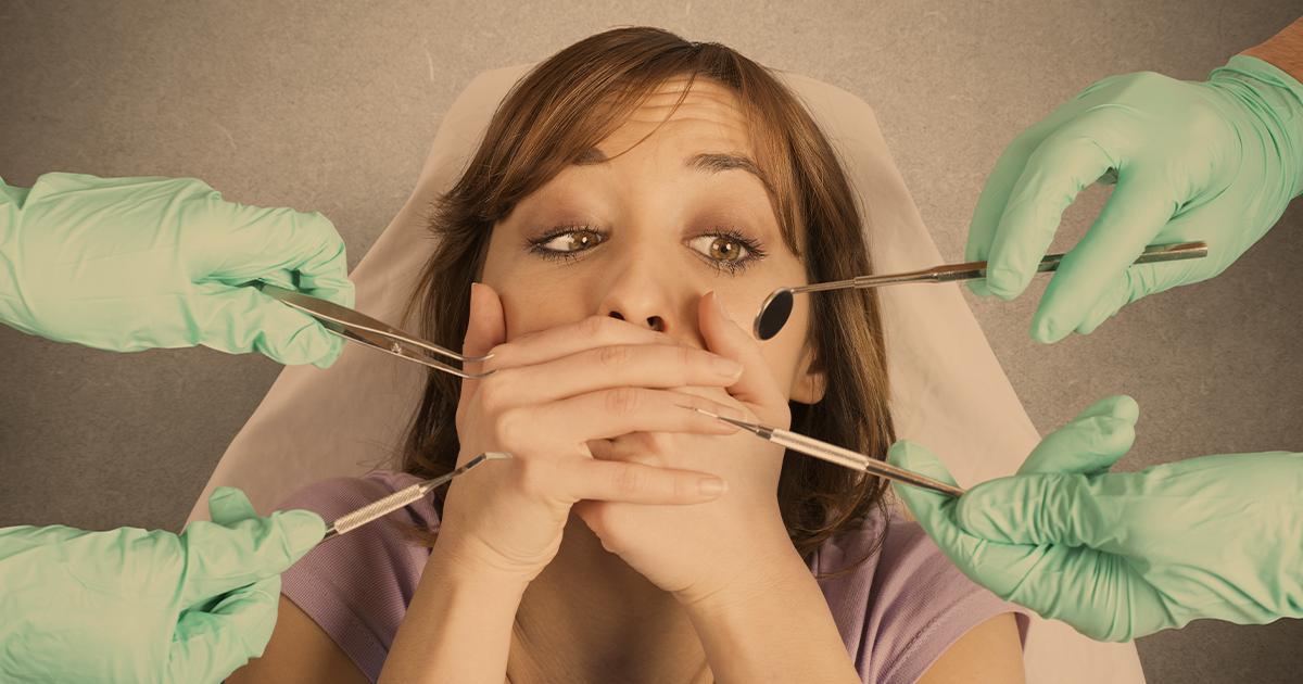 Como lidar com pacientes que têm fobia de dentista?
